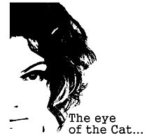 The eye of the Cat Photographic Print