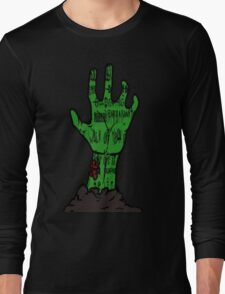 zombie hand Long Sleeve T-Shirt