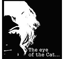 Eye of the Catwoman Photographic Print