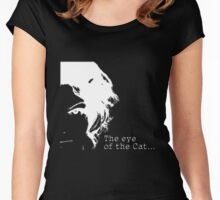 Eye of the Catwoman Women's Fitted Scoop T-Shirt