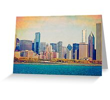 Vintage Chicago Greeting Card