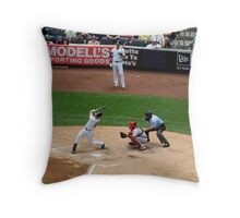 Foul Ball Throw Pillow