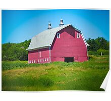 Big Red Barn Poster