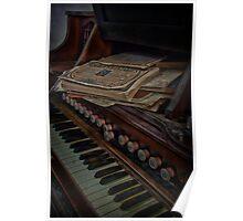 Old Organ Poster