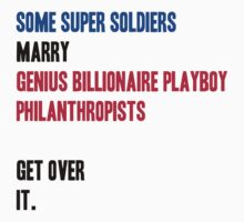 Some Super Soldiers Marry Genius Billionaire Playboy Philanthropists by Abigail-Devon Sawyer-Parker