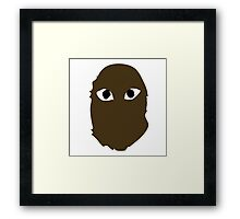 A Bathing Ape x Comme Des Garcons Framed Print