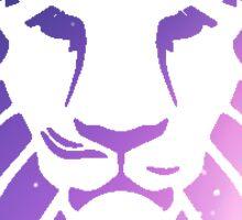 galaxy lion Sticker