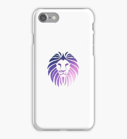 galaxy lion iPhone Case/Skin