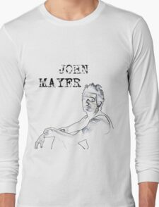 John Mayer Long Sleeve T-Shirt