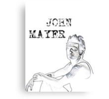 John Mayer Canvas Print