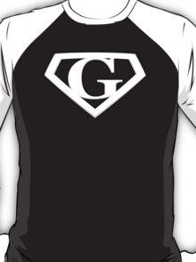 Super Cool White G Logo T-Shirt