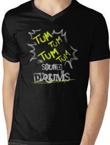 DRUMS Mens V-Neck T-Shirt
