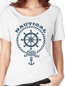 Nautigal Nautical T Shirt Women's Relaxed Fit T-Shirt