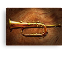 Instrument - Horn - Reveille and Rouse Canvas Print