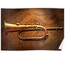 Instrument - Horn - Reveille and Rouse Poster