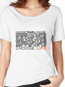 Choose Gigs Women's Relaxed Fit T-Shirt