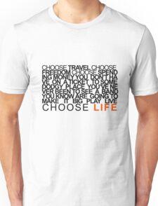 Choose Gigs Unisex T-Shirt