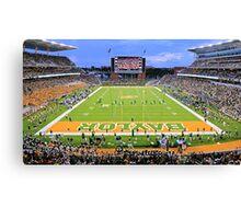 Baylor Touchdown Celebration Canvas Print