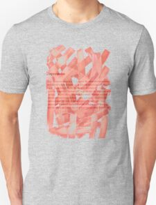 brush type Unisex T-Shirt