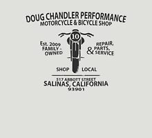 Doug Chandler Performance: Motorcycle (Black/Dark Grey) Unisex T-Shirt
