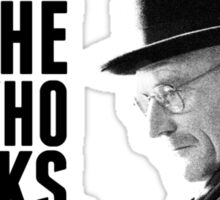 Breaking Bad: The one who knocks. Sticker