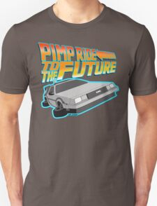 Pimp Ridin' to the Future T-Shirt