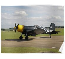 Chance-Vought Corsair F4U Poster