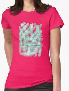 brush type green Womens Fitted T-Shirt