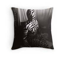 Zentai 02 Throw Pillow