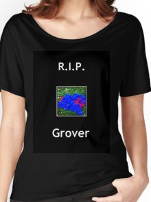 R.I.P Grover Women's Relaxed Fit T-Shirt