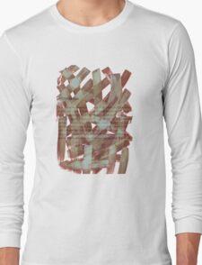 brush type brown Long Sleeve T-Shirt