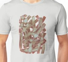 brush type brown Unisex T-Shirt