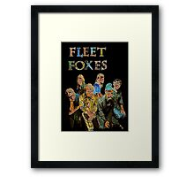 Fleet Foxes Framed Print