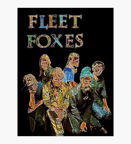 Fleet Foxes Photographic Print