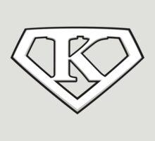 Super Cool White K Logo by adamcampen