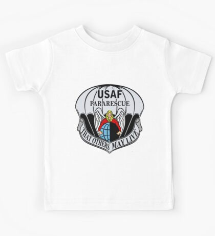 USAF Para Rescue Special Forces Logo Kids Tee