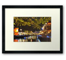 sunshine plaza  Framed Print