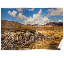Lissoughter Connemara Galway Ireland. Poster