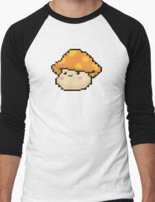 Maplestory Orange Mushroom Men's Baseball ¾ T-Shirt