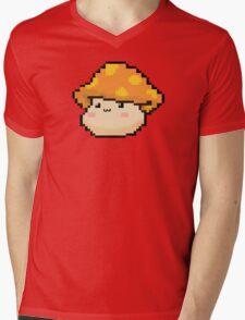 Maplestory Orange Mushroom Mens V-Neck T-Shirt