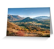 The View from Crown Peak Road Greeting Card