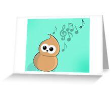 Zingy -dance  EDF Greeting Card