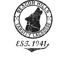 Beacon Hills Lacrosse by fridaywarning