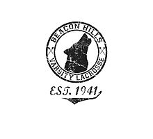 Beacon Hills Lacrosse Photographic Print
