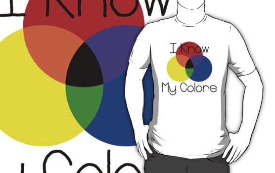 I Know My Colors by waywardtees