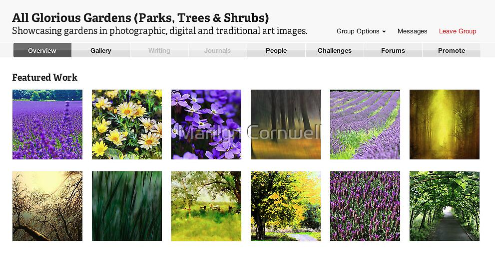 All Glorious Gardens Features July 16 2012 by Marilyn Cornwell