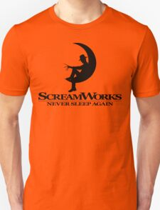 ScreamWorks (Black) Unisex T-Shirt
