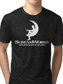 ScreamWorks (White) Tri-blend T-Shirt