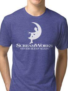 ScreamWorks (White) Tri-blend T-Shirt