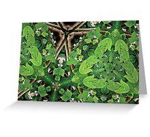 Prismatic Foliage 10 Greeting Card